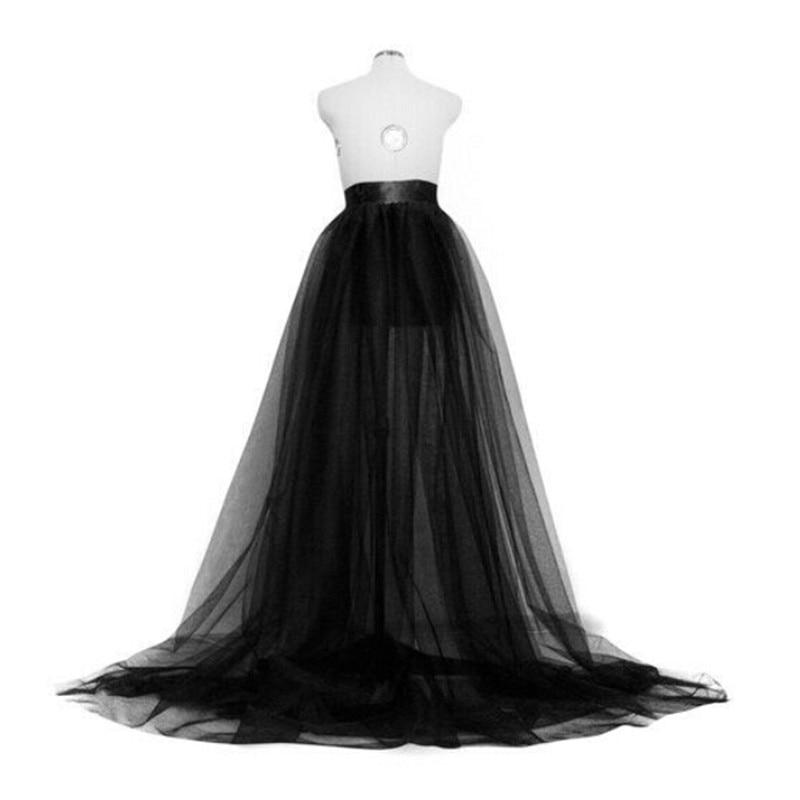 Hot Sale Women Mesh Skirts 2019 New Summer High Waist Tulle Tutu Long Skirt Wedding Party Prom Bandage Princess Mesh Maxi Skirt
