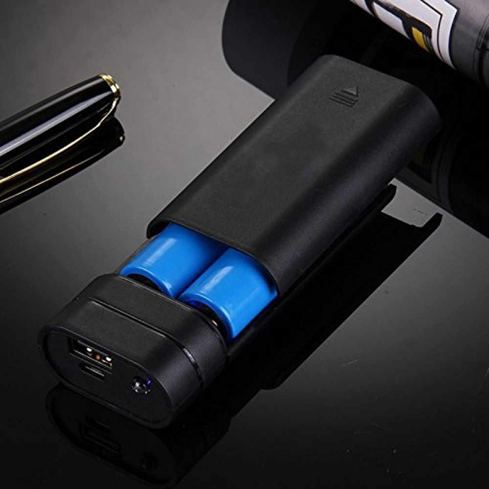 2019 חם 5V USB כוח בנק מקרה 18650 סוללה מטען DIY תיבת עבור טלפון סלולרי חיצוני גיבוי סוללות לא כלול