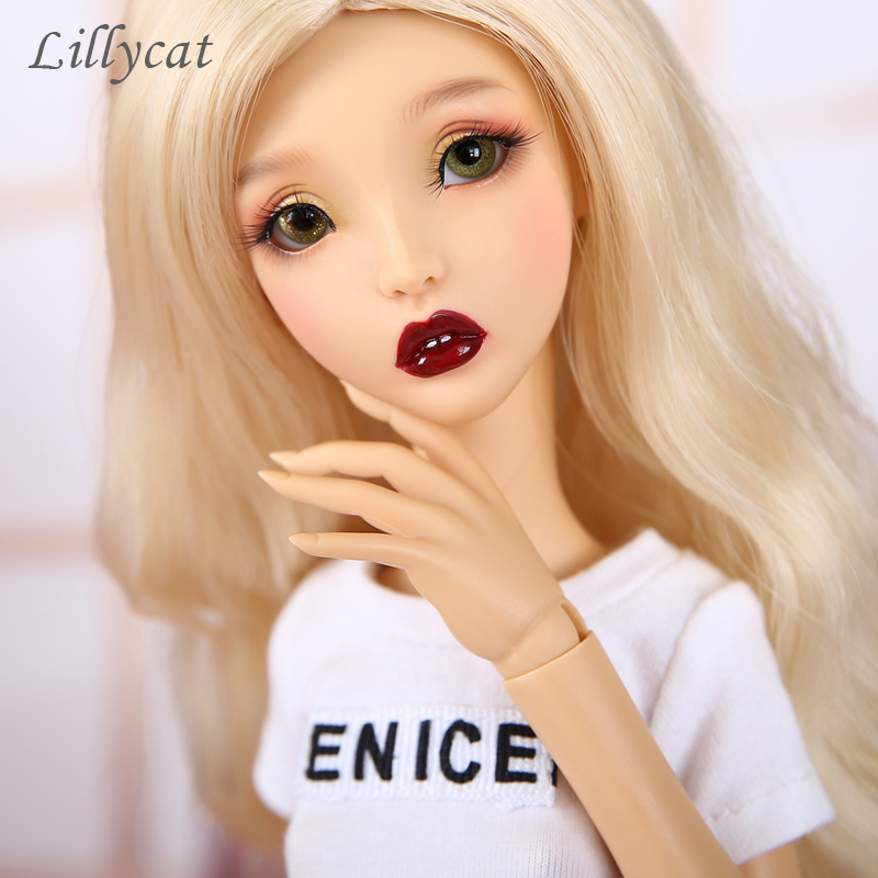 1 4 Lillycat Ellana BJD Doll Lune Body Model Girls Toys High Quality Figures Gold Healthy