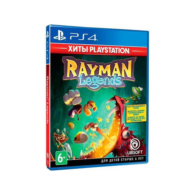 Игра для Sony PlayStation 4 Rayman Legends, русская версия