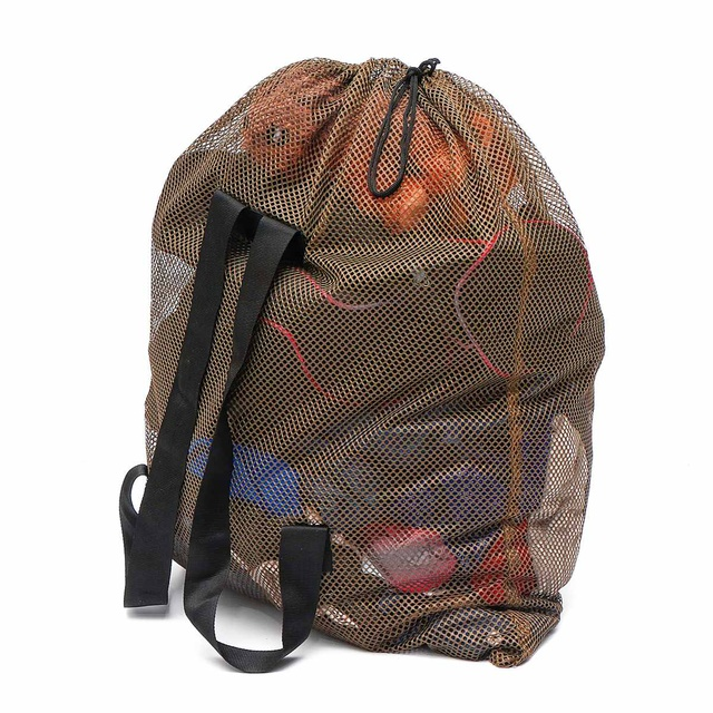 Security Alarm Mesh Decoy Bags Duck Goose Turkey Decoy Bag Hunting With Shoulder Straps Polyester Mesh Net For Hunting