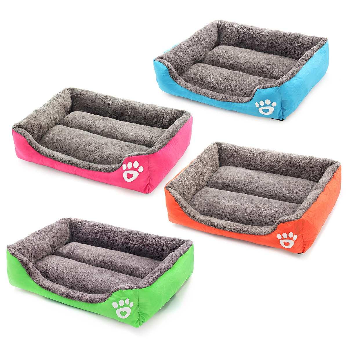 XXXL taille Pet chien chat lit chiot coussin maison Pet doux chaud chenil chien tapis couverture chiot Pad hiver chaud animal coussin