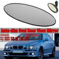 E46 E39 Auto Dim Oval Rearview Mirror Glass Car Rear View Mirror Replacement Glass Cell Repair For BMW E46 M3 00 06 E39 M5 98 03