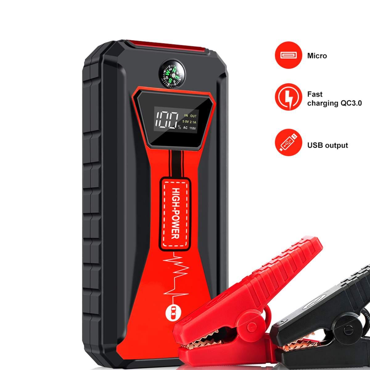 88000 mAh voiture saut démarreur 12 v batterie externe Portable chargeur de voiture multi-fonction démarrage Jumper d'urgence voiture batterie Booster