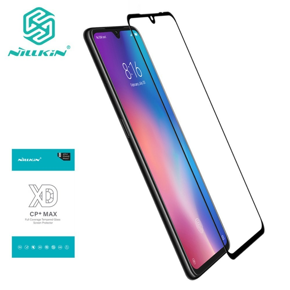 NILLKIN XD CP+MAX Mobile Screen Protectors for Xiaomi Mi 9 Explore Full Coverage Tempered Glass Film For Xiaomi Mi9 mi 9 explore