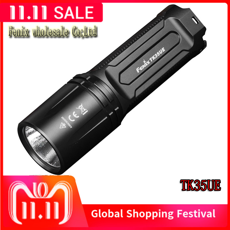 Fenix TK35UE Tactical Handheld Flashlight Torch CREE XHP70 LED 3200 Lumen aluminum tactical rescue torch