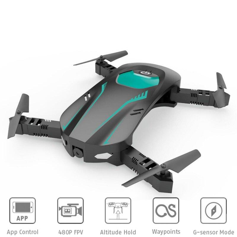 W606 8 Faltbare RC Selfie Drohne BNF 480 p WiFi Echtzeit FPV Kamera G-Sensor Modus Wegpunkte Smart telefon App Fernbedienung
