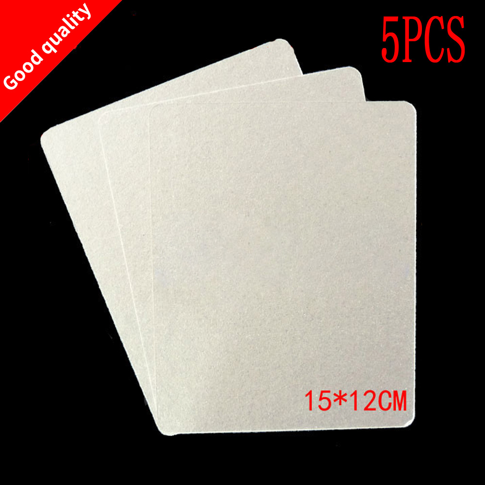 цена на 5pcs Microwave Oven Repairing Part 1.5 x 1.2m Mica Plates Sheets for Galanz Midea for Panasonic LG etc.. Microwave high quality