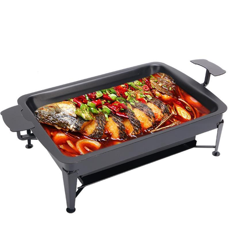 Parrilla Portable Korean Asadores Portatiles Carbon Charcoal Churrasco Kebab Barbecue For Outdoor Fish Seafood Bbq Grill Plate in BBQ Grills from Home Garden