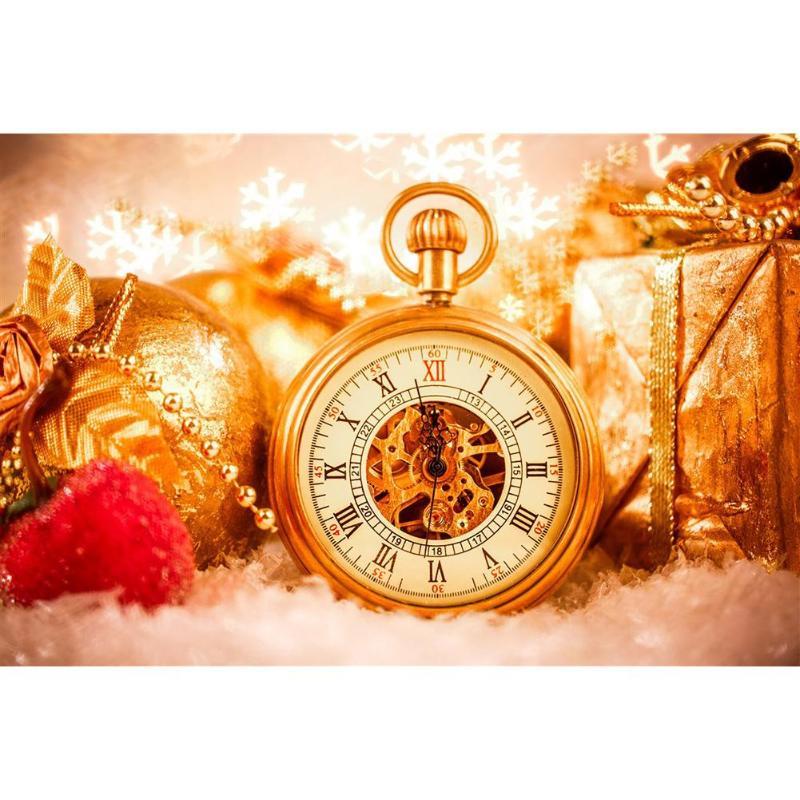 5D bricolage plein forage diamant peinture horloge point de croix broderie strass mosaïque Kits décor mural maison