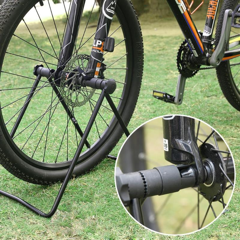 U Shape Bike Cycling Folding Wheel Hub Kickstand Repair Parking Rack Stands