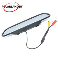 16:9 screen DC 12V Color TFT LCD Screen for DVD Camera VCR Rearview Mirror Monitor High resolution 5 Inch