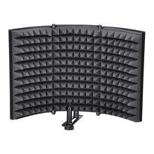 Складной Студийный микрофон изоляционный щит звукопоглотитель Звукоизоляционная панель звукоизоляционные наклейки на стену губка студийная пена