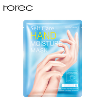 ROREC Milk Moisturizing Hand Mask Hyaluronic Aicd Patch Remove Dead Skin Anti-Drying Exfoliating Care