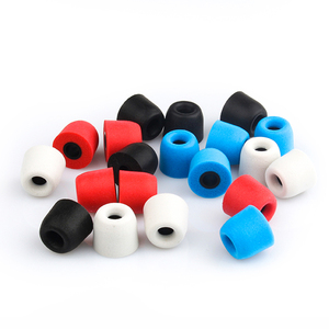 Image 5 - TRN 3 Pairs (6pcs) S/M/L 4.5mm T400 Noise Isolating Memory Foam Eartips For In Ear Earphone Earbud Ear Cushions With Retail Pack