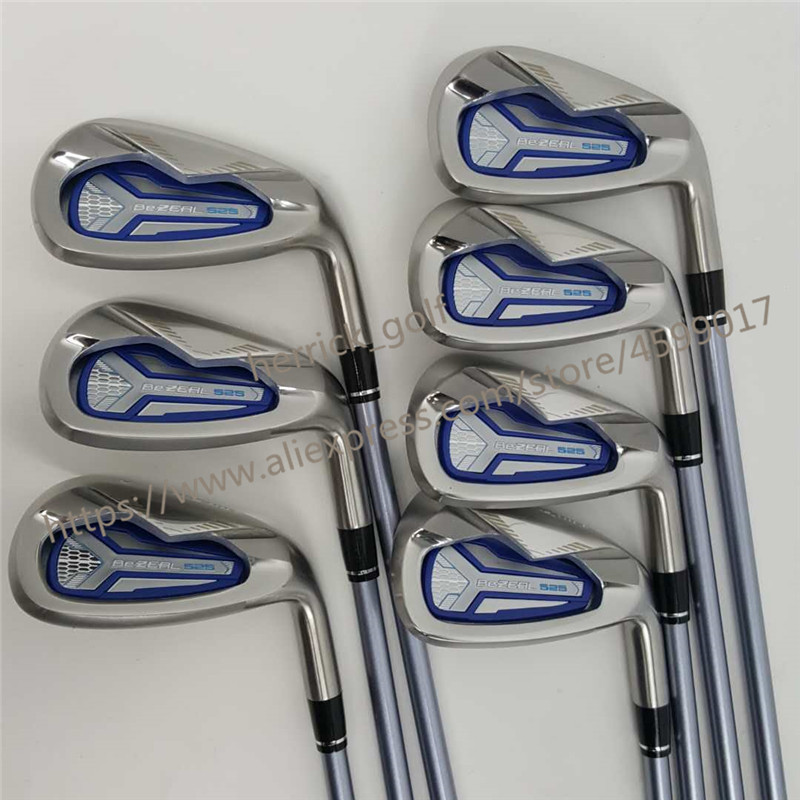 Image 4 - Women's golf clubs HONMA BEZEAL 525 Golf Irons Ms. Golf Club Graphite Golf Club L Bending NO  bag Free Shipping-in Golf Clubs from Sports & Entertainment