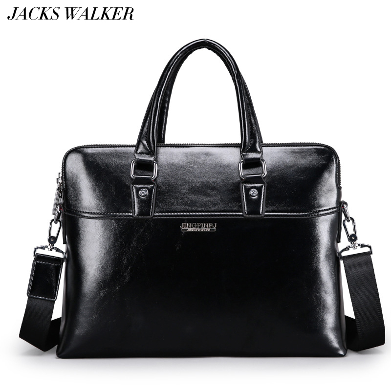 Luxury Cow Real Genuine Leather Business Men s Briefcase Male Fashion Shoulder Bag Men s Messenger