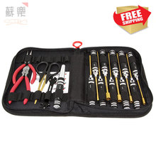 RC model Toy tools XRS Hexagon Sleeve slotted Phillips screwdriver wrench pliers scissors Tool Set 16 pieces KIT