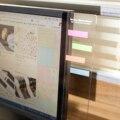 Behogar 2 шт.  пластиковый монитор  информация о сообщениях  доска для липких нот  вкладки телефонов  компьютеров  мониторов  боковая панель