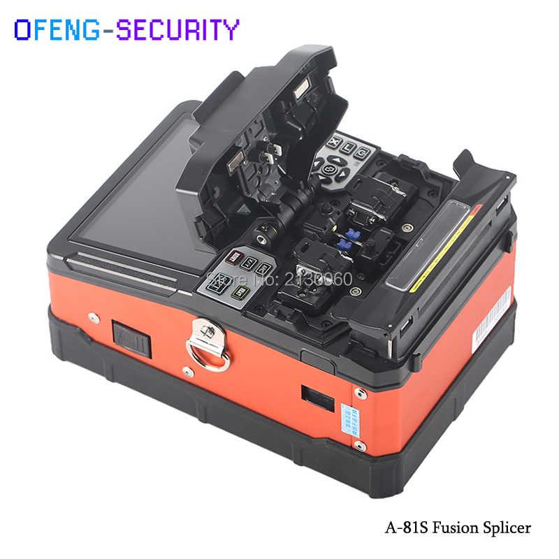 Дешевые A-81S FTTH волоконно-оптической сварки сплайсинга машина A-81S Сплайсер с 9 секунд Время сращивания