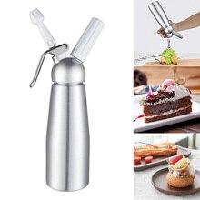 500 мл диспенсер для крема Professional алюминий дозатор для взбитых сливок украшения сопла десерты