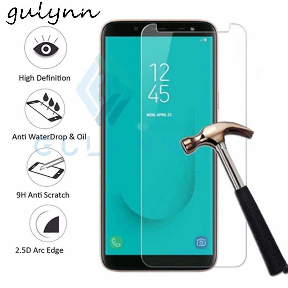 Protect Glass On For Samsung Galaxy J3 J4 J6 J7 J8 Plus 2018 J 2 4 6 8 A6 8 Protective Screen Protector Protection Tempered Glas