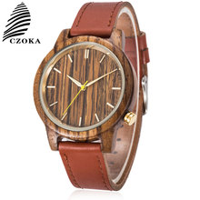 CZOKA Business Quartz Watch Women Wrist Watches Leather Clocks Kol Saati Reloj Mujer Relogio Feminino Ladies Women's Watches цена и фото