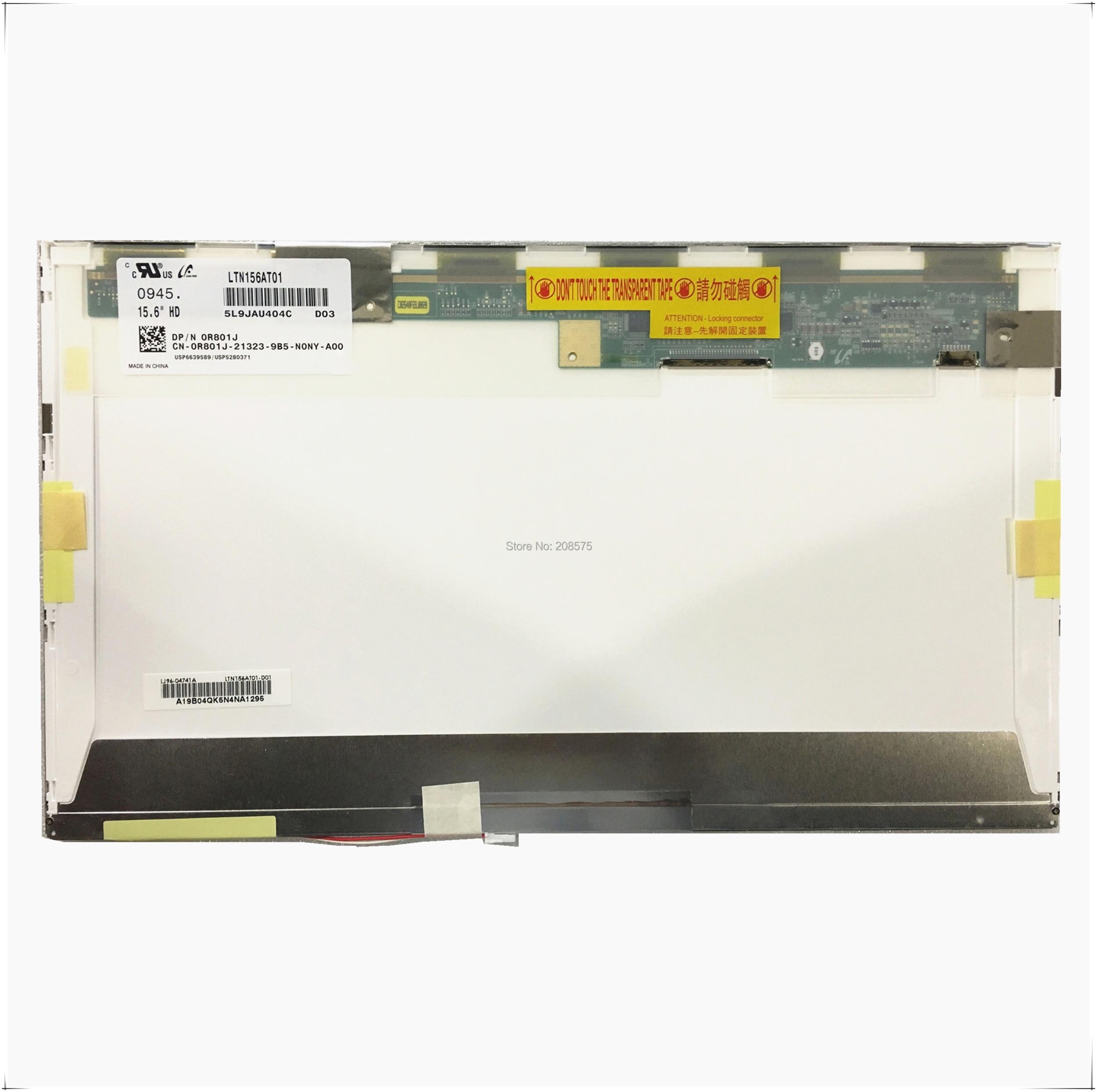 Frete Grátis LTN156AT01 CLAA156WA01A B156XW01 V.0 V.1 V.2 V.3 N156B3-L02 L0B LP156WH1 TLA1 TLC1 1366*768 tela LCD LVDS 30 pinos