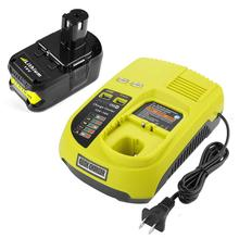 цены 3A 12V 14.4V 18V For Ryobi P117 Rechargeable Battery Charger Battery Pack Power Tool Ni-Cd Ni-Mh Li-Ion P110, P111, P107,P108