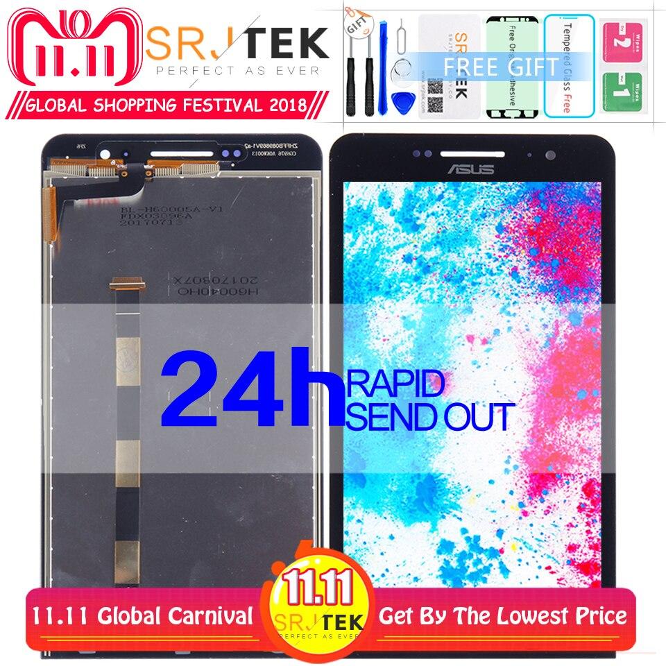 Para Asus Zenfone 6 LCD A600CG A601CG Panel de la pantalla LCD digitalizador de pantalla táctil de vidrio de la Asamblea 1280*720 de 6,0