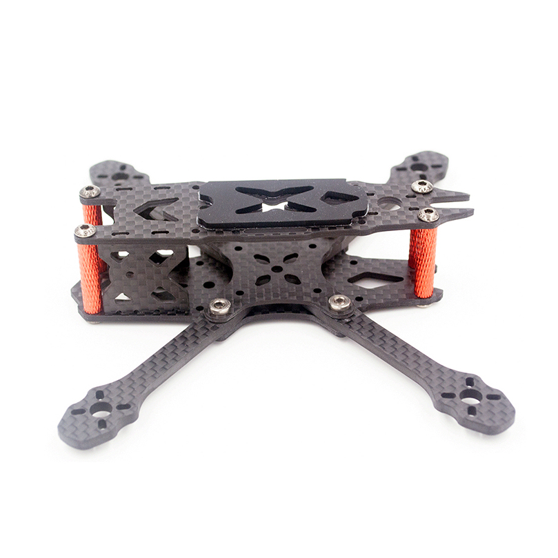 FS135 135mm Wheelbase 3mm Arm Thickness 3K Carbon Fiber Frame Kit for RC Drone FPV Quadcopter 3 inch Props <font><b>1103</b></font>/1104/1305 <font><b>Motor</b></font> image