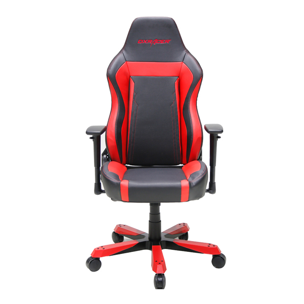 Dxracer Office Chair Us 471 65 Dxracer Wide Series Oh Wz06 Nr High Back Office Chair Computer Desk Chair Vinyl Black Red In Office Chairs From Furniture On
