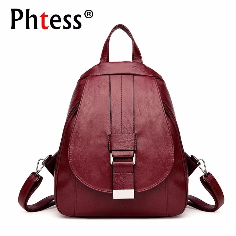 Women Vintage Backpacks For School Small Shoulder Bag Preppy Style Female Backpack For Teenage Girls Sac A Dos Softback New