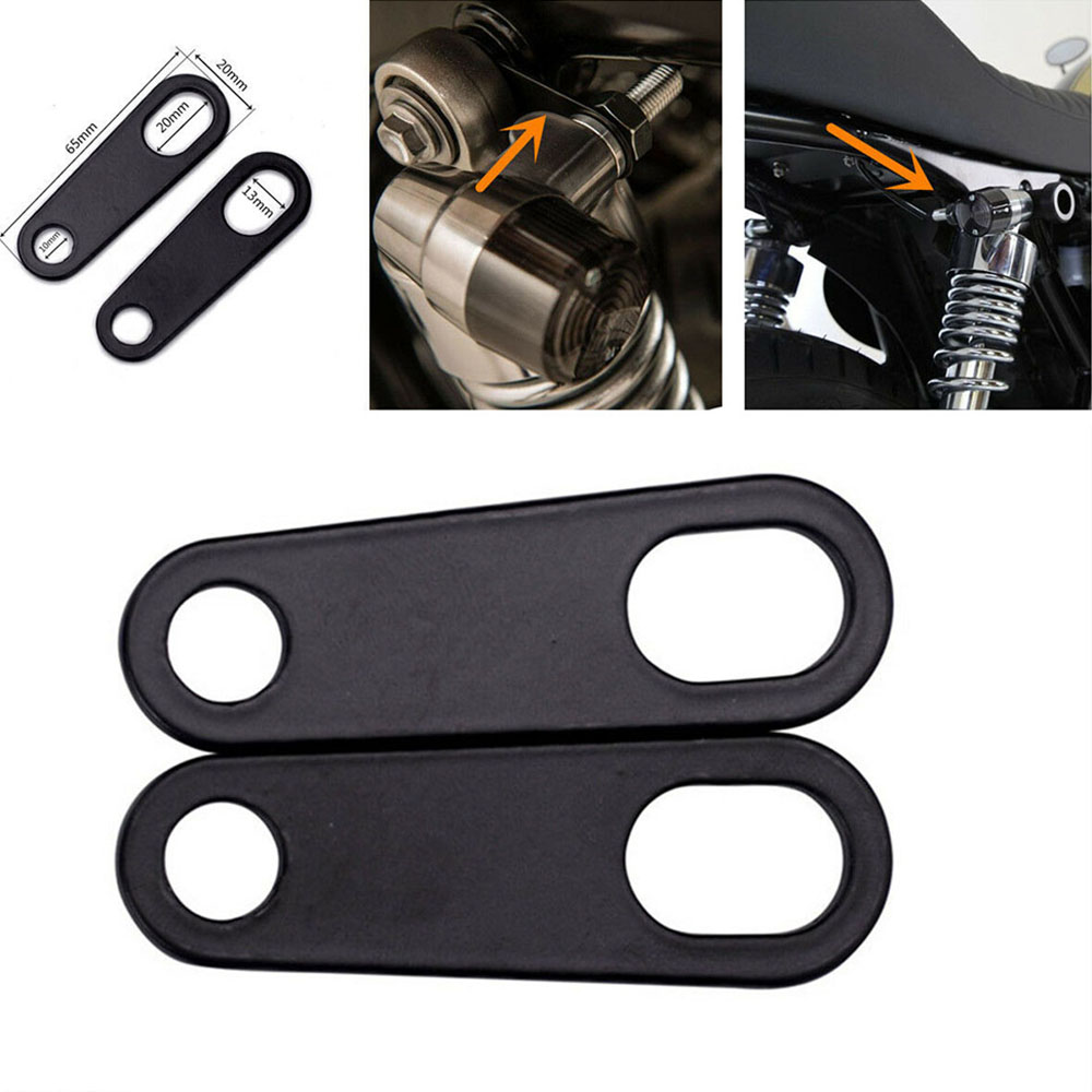 Brackets Light-Mount Fork Ear-Clamps Motorcycletturn-Signal-Bracket 2pcs title=