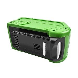 Image 3 - Bonacell 40V 6000mAh Sostituzione Della Batteria Ricaricabile per Creabest 40V 200W GreenWorks 29462 29472 22272G  MAX GMAX L30