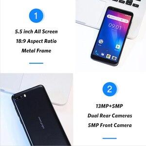 Image 4 - هاتف Ulefone S1 Pro محمول يعمل بنظام الأندرويد 8.1 5.5 بوصة 18:9 MTK6739 رباعي النواة 1GB RAM 16GB ROM 13MP + 5MP كاميرا خلفية مزدوجة 4G هاتف ذكي