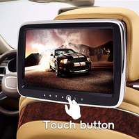 9'' Digital HD Screen Car DVD Player Headrest Monitor USB/SD/HDMI/FM/Game/MP5 Hi Fi Audio Video Radio Amplifier Stereo