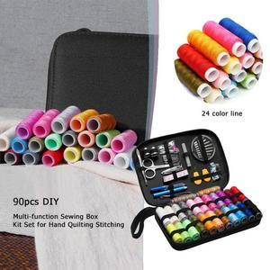 Image 3 - Kits de couture, boîte multifonction, à bricolage même, 70/90/97/98 pièces, pour couette couture de fil à broder à la main, accessoires de couture