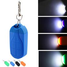 LED Keychain Light Durable Plastic With magnet Outdoor Mini COB Lamp For Camping Hiking Night Lighting Portable Flashlight portable mini cob led flashlight keychain handy light lamp carabiner camping outdoor torch