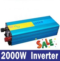 4000W peak 2000W inverseur sinusoidale pure 12V 24V 48V 2000W inverter 2kw pure sine wave, off grid tie, solar home inverter