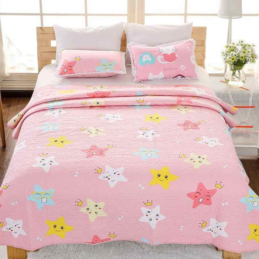 Luxury Cotton Bedspread Bedsheet Summer Comforter Air Conditioning Blanket bedding