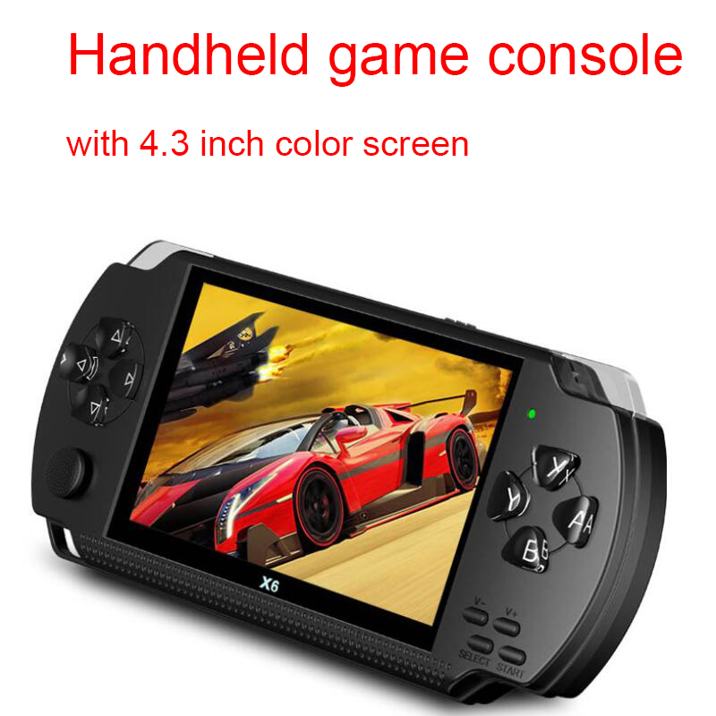 Real 8GB handheld game console 4.3 inch LCD,MP5 game player,MP4 player support  arcade game,audio video player with camera,ebookReal 8GB handheld game console 4.3 inch LCD,MP5 game player,MP4 player support  arcade game,audio video player with camera,ebook