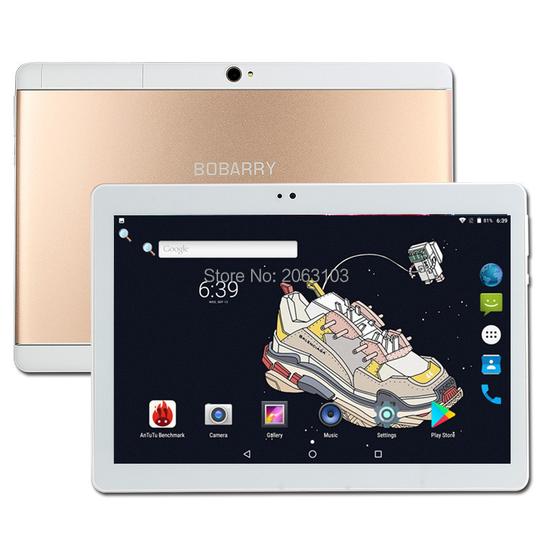 Free Shipping 10 Inch Tablet PC Octa Core 4GB RAM 32G ROM64GB ROM 3G Bluetooth WiFi Android 8.0 Multi Touch 1280*800 IPS Phablet