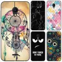 Bunte Muster Weiche Telefon Fall Für Meizu C9/M9C Mode Design Kunst Gemalt TPU Silikon Abdeckung
