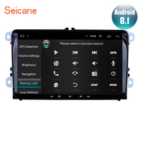 Seicane 9 inch Android 8.1 Car Radio GPS Navi Headunit Player for VW Volkswagen SEAT LEON CUPRA Skoda Passat b5 b6 CC Polo