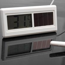 1 м портативный солнечный цифровой ЖК-термометр-50 градусов до 150 градусов бытовые Термометры с кабелем датчика