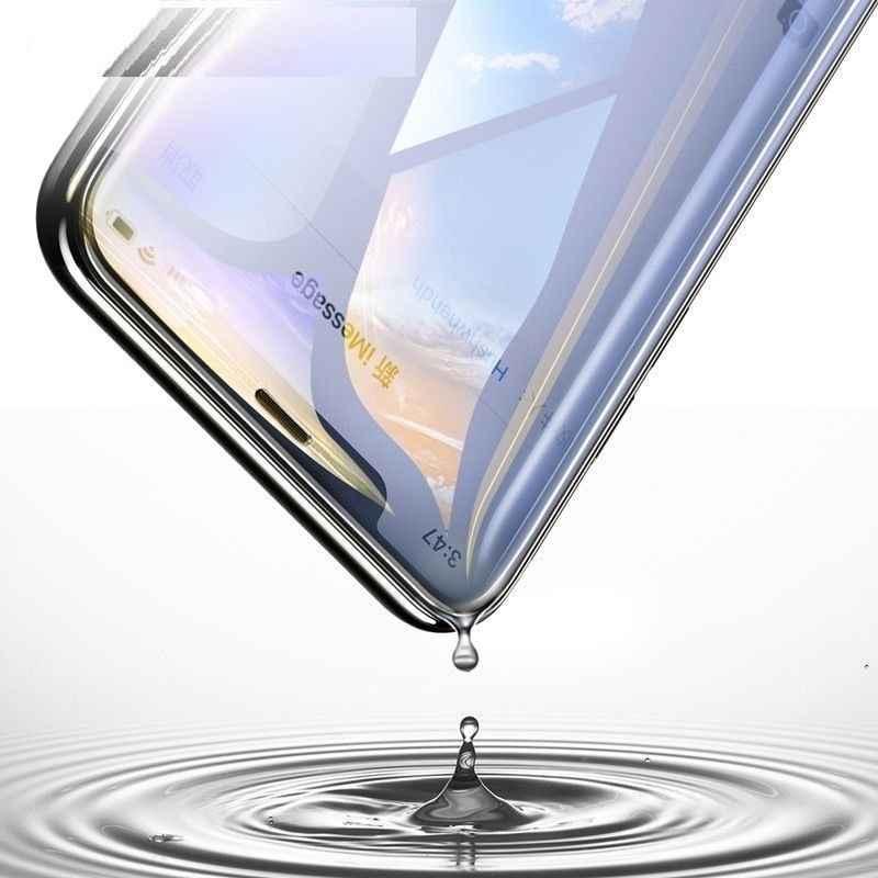 9D زجاج واقي ل فون 8 Xr Xs Xs ماكس الزجاج المقسى على آيفون X 6 6s 7 8 زائد Xs الزجاج واقي للشاشة حماية