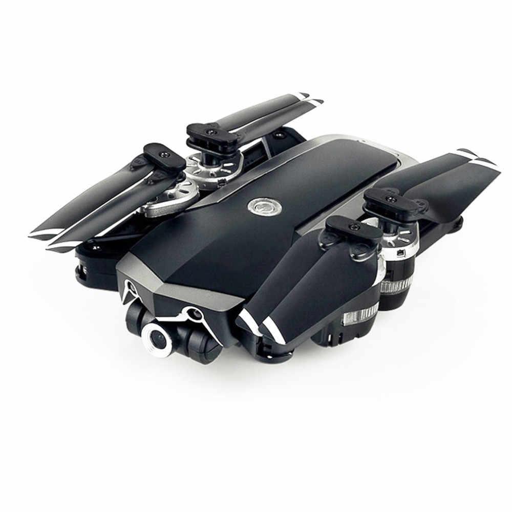 DCJDRC Dobrável Selfie RC Drone Quadcopter Com Câmera Grande-angular 480 p WIFI JD-20S720P 0.3MP Configuração Longa-time zangão