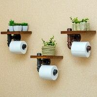 WSHYUFEI Creative Toilet Paper Rack Toilet Paper Towel Rack Bathroom Bathroom Discharge Goods Wall Hanging Household