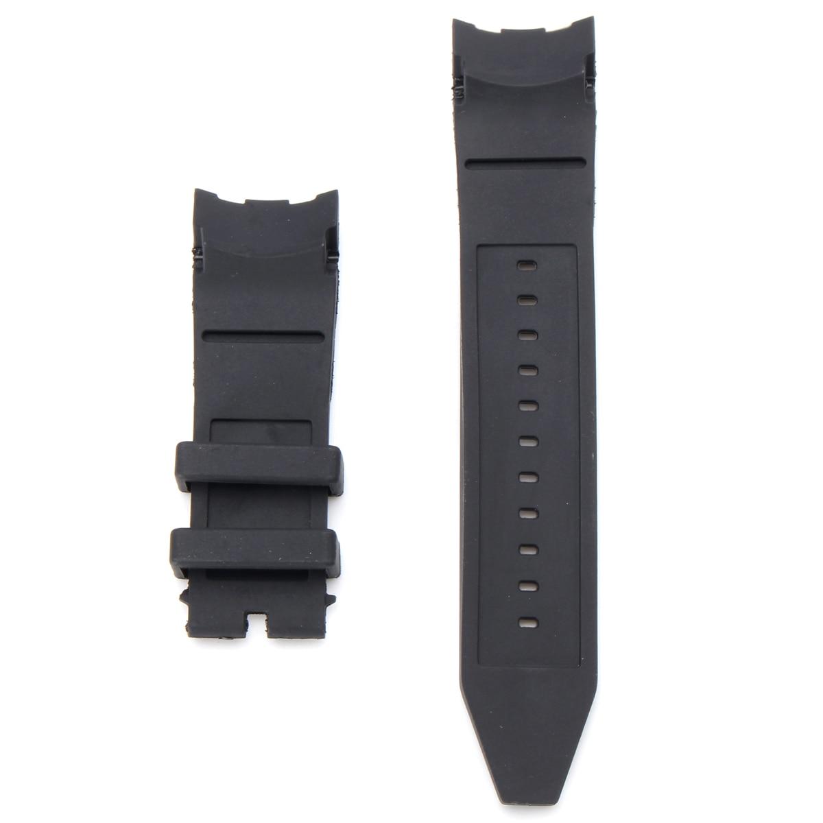 3f3a6e075826 Reemplazo de correa de reloj negra de goma de silicona de 26mm para  invicta-pro Diver 6977 pulsera ...